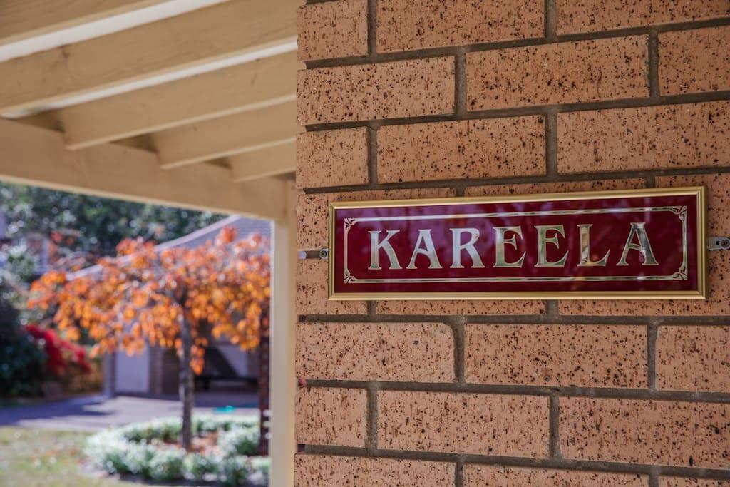 Welcome to Kareela