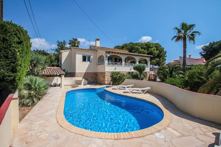 Bal-30E - traditionally furnished detached villa with peaceful surroundings in Benissa