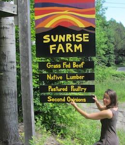 Sunrise Farm, Brattleboro Farm-stay - Guilford - Apartment