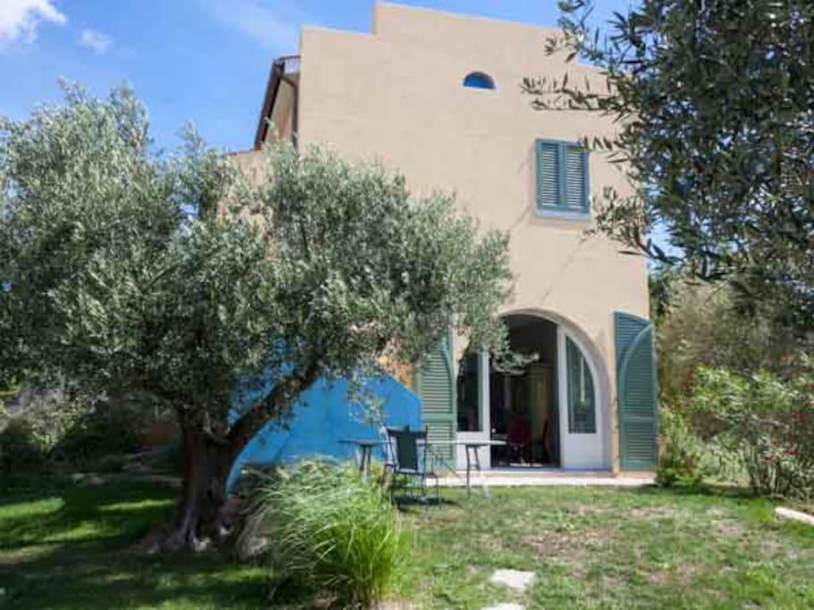 Villetta uliveto isola d 39 elba apartments for rent in for Piani di casa con guest house annessa
