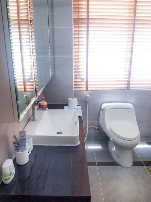 Private Toilet with walk-in wadrobe