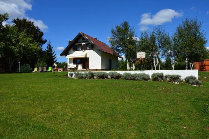 HOLIDAY HOUSE NOVOSEL - Plitvica Selo - Dům
