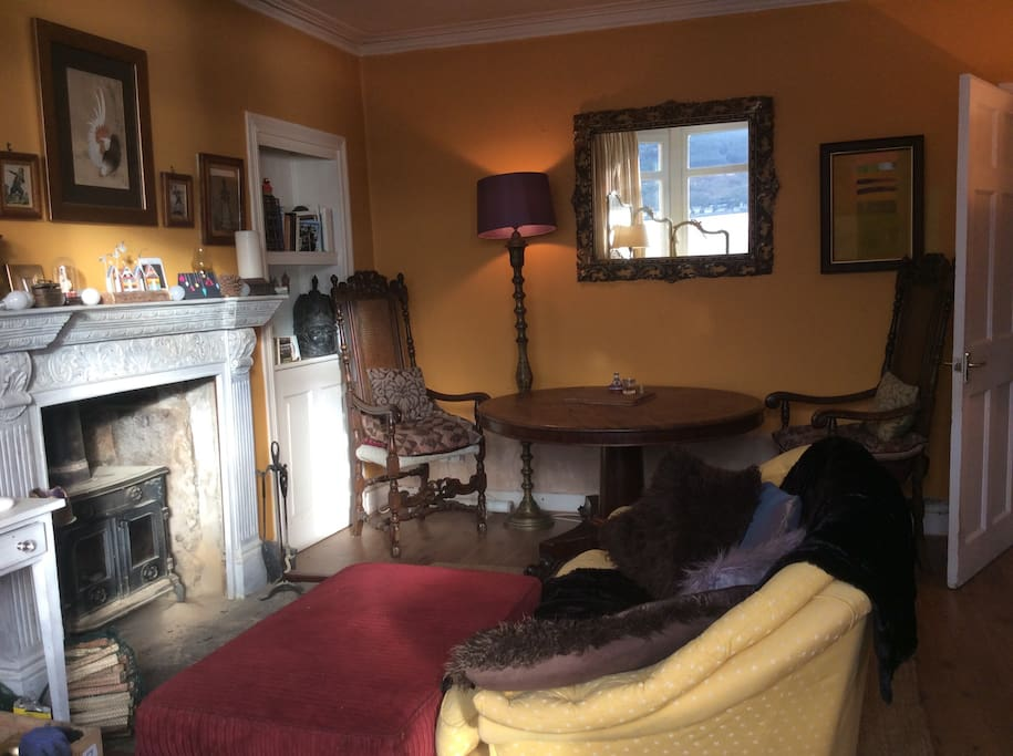 Winter sun in the sitting room