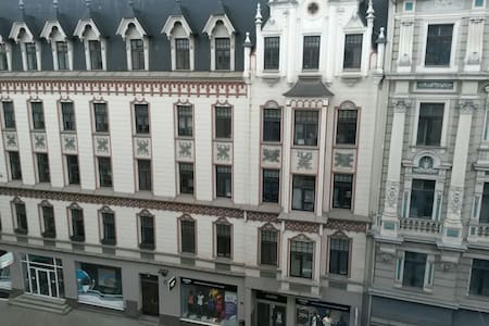 Center of city with streetview - Riga - Appartement