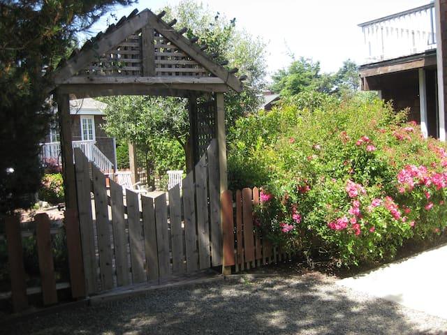 Gate to Couryard