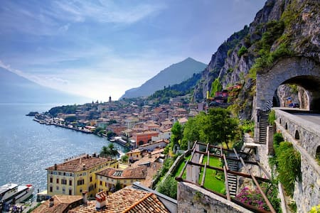 Wonderful flat in Garda's heart! - Limone sul Garda