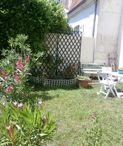 Appartement jardin centre ville - Appartement