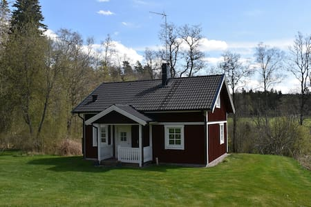 Modern cottage in mill environment - Vetlanda SV
