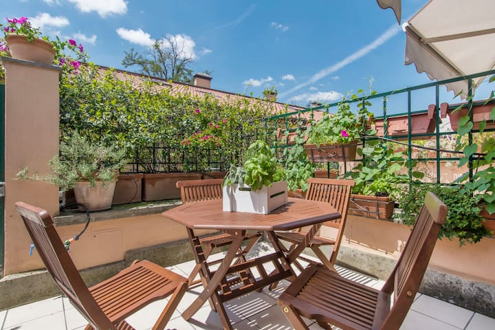 A lovely loft in the center of Rome - Rome - Huis