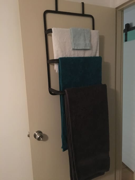 Quality towels for your comfort