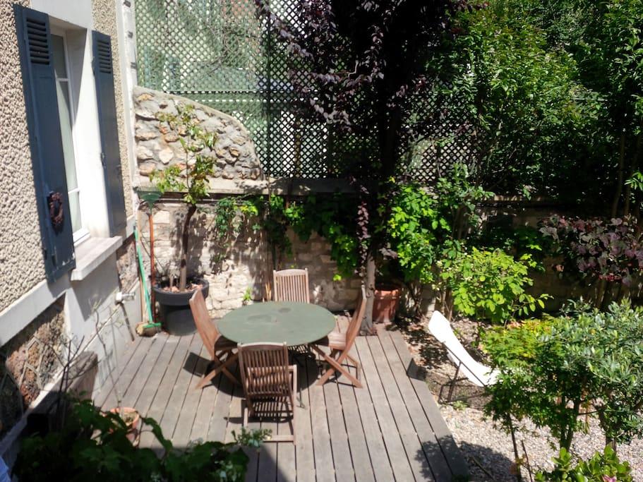 Maison de charme avec jardin houses for rent in boulogne - Maison de jardin occasion boulogne billancourt ...