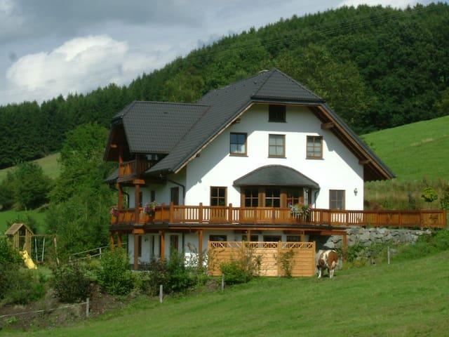 Sehr schöne und stilvolle 4-Sterne-Ferienwohnung