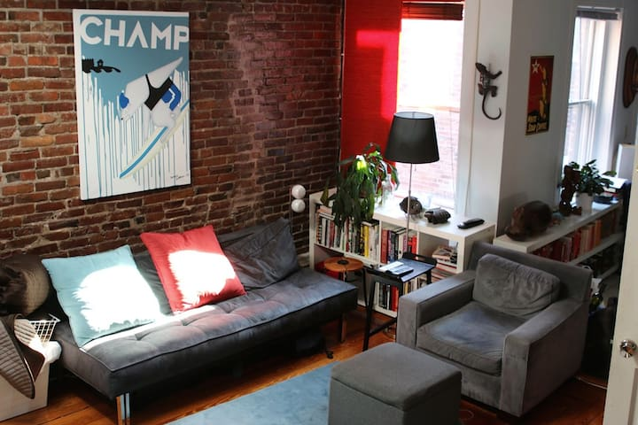 Room in penthouse apt /Beacon Hill - 波士頓 - 公寓