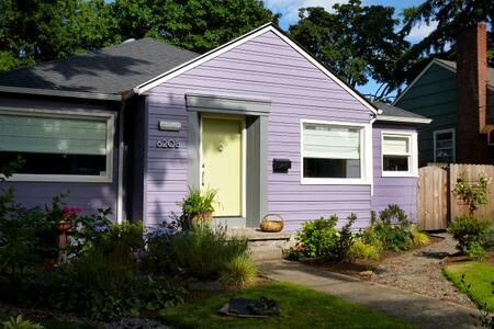 Portland Bungalow, A Happy House