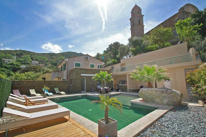 Casa San Martinu, heated pool, Patrimonio - Patrimonio - House