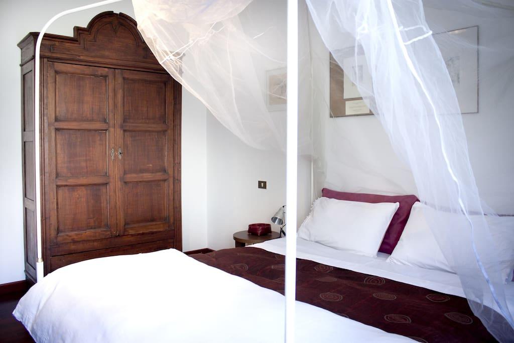 Camere matrimoniale con bagno en-suite (stanza1)
