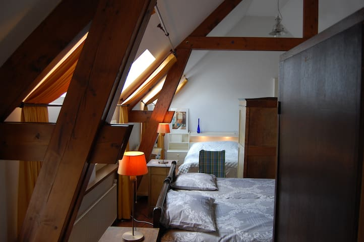 Hayloft available for 6 or more persons