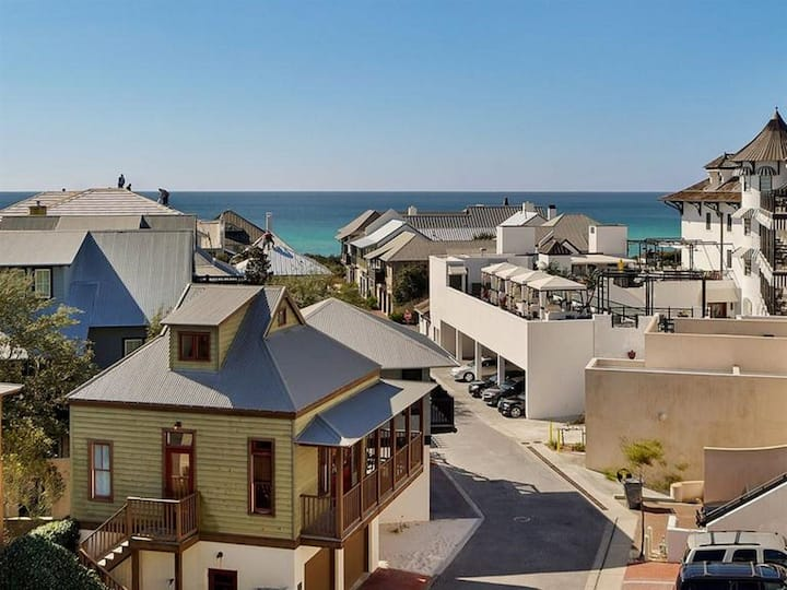 WOW!! Sprawling 4 BR Penthouse with incredible gulf views south of 30A.