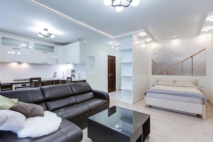 New stylish flat near Kievskaya - Moskova - Huoneisto