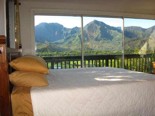 Hanalei Bluff - Breathtaking views of Hanalei Bay! - Princeville - Hus