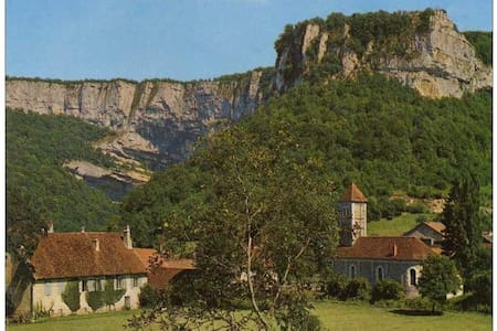 """Chambre d'hôtes """"Aux Re-Sources de la Reculée"""" - Les Planches-près-Arbois - 住宿加早餐"""