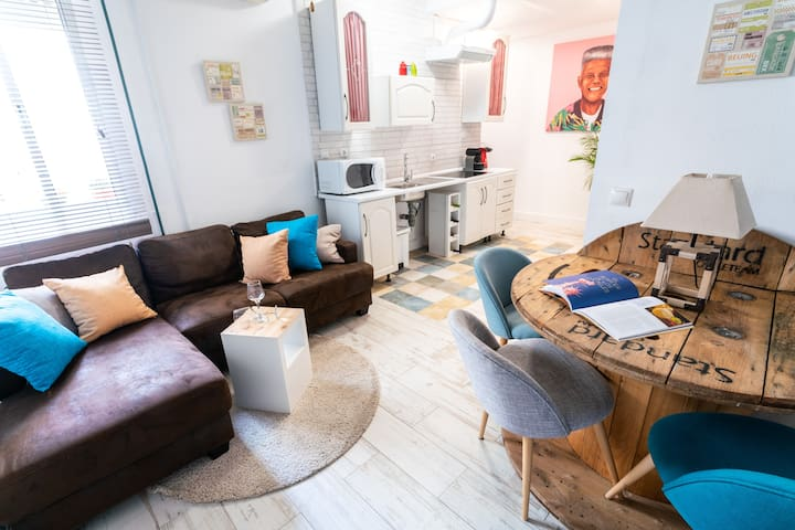 Reformed two bedroom, two bath in heart of Seville