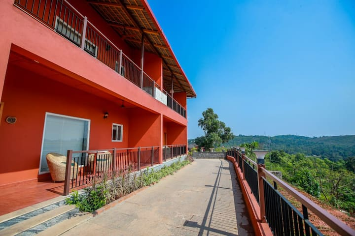 Estate Double occupancy valley view room-  Indra