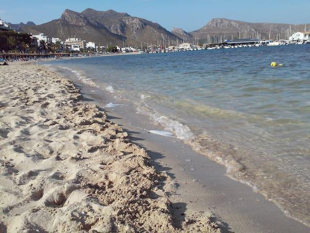 Piso muy cerca de la playa. - Port de Pollença - Hus