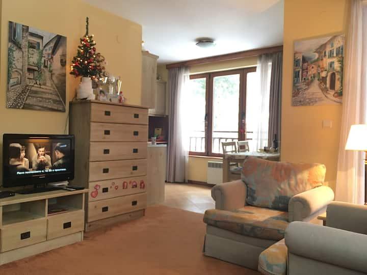 Pirin Golf - a cozy apartment for ski&golf ❤️ers