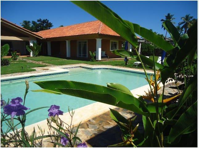 Villa Los Tainos - La Playita  - Las Galeras - House