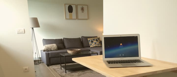 Furnished 2 person apartment for rent in Ghent