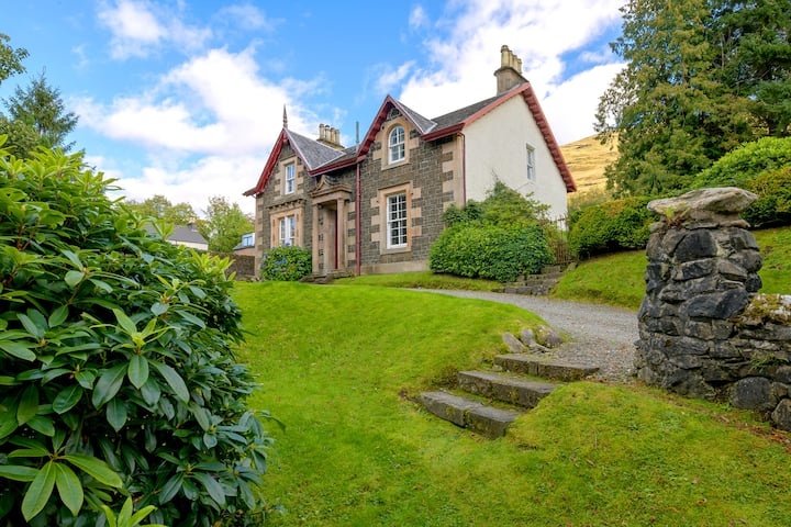 Mansefield House, overlooking Loch Long, Arrochar