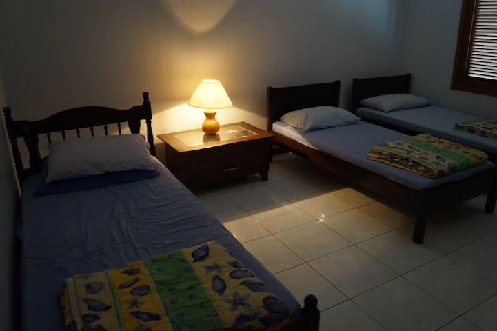 Bedroom #2 on lower floor
