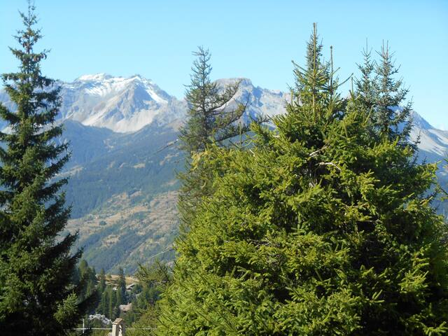 Alloggio panoramico con vista spendida - Sauze d'Oulx