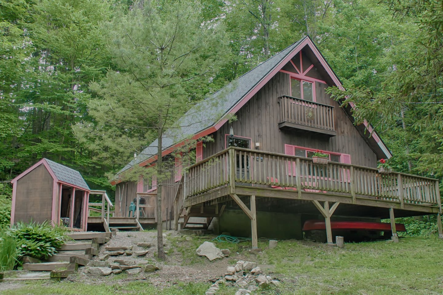 The Happy Moose Chalet