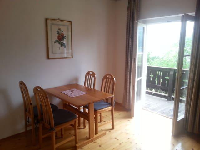 Sonnige Wohnung am Ossiachersee mit Seegrund - Ostriach - Apartemen