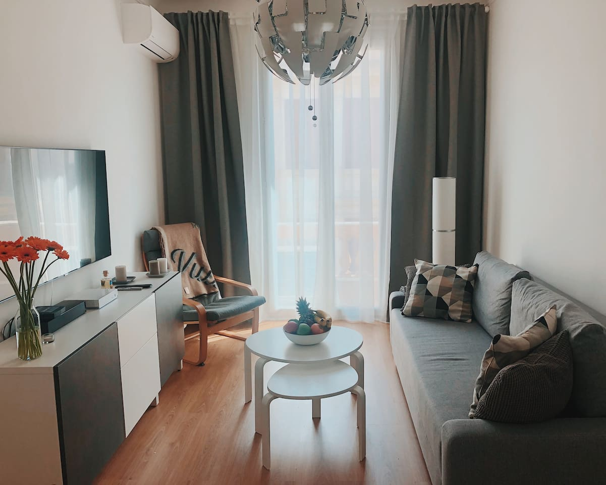 Beautiful new 2 bedroom appartement, minutes away from the center of Monaco