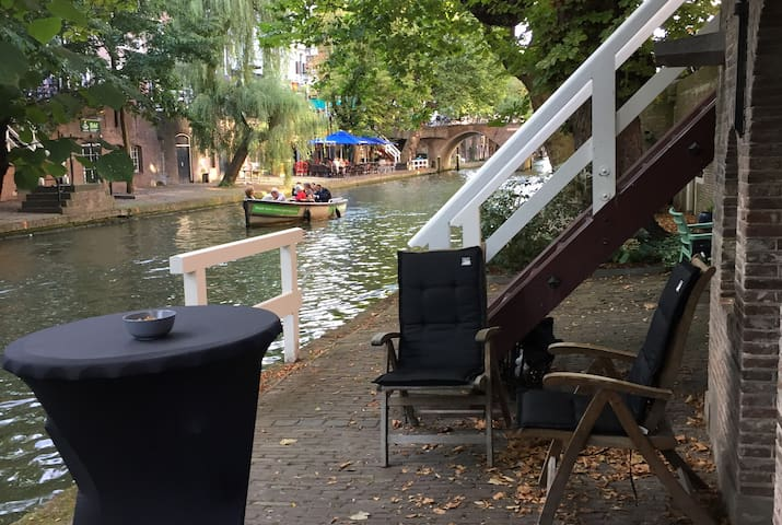 Lovely Canal House in centre Utrecht - Utrecht - Wohnung