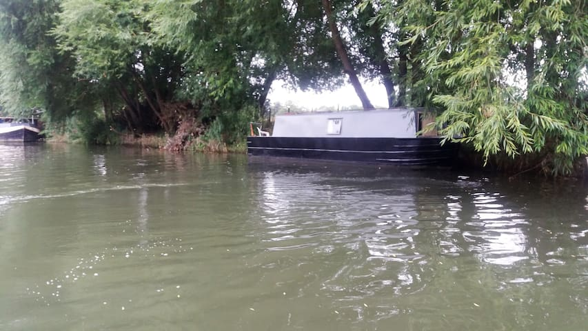 30ft  Narrowboat warm relaxing space - Wallingford  - Vaixell
