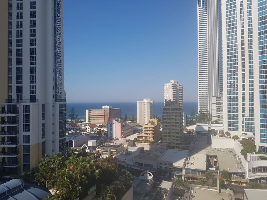 View from Apartment Balcony