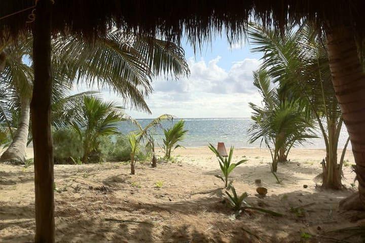 Casa Caribe, oceanfront bungalow
