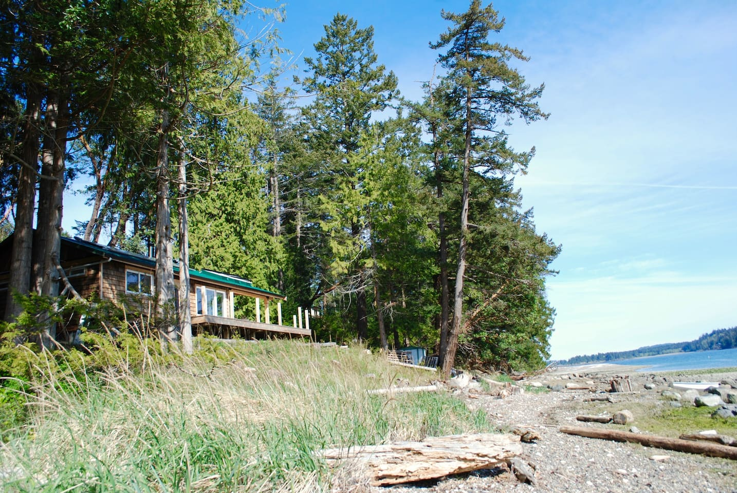 Maple Bay waterfront beach house