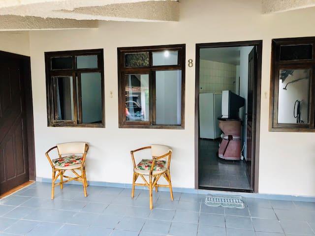 Casa 4 quartos Neireidas 300 metros da praia