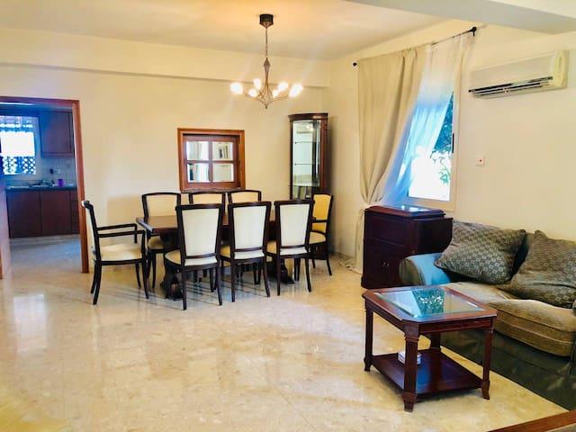 Villa near Dassoudi Beach & Tourist Area