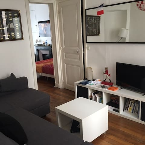 Lovely apartment in the heart of Montmartre - Paryż - Apartament