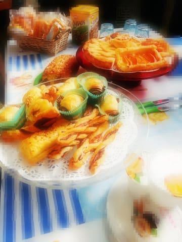 una delle colazioni di Agata
