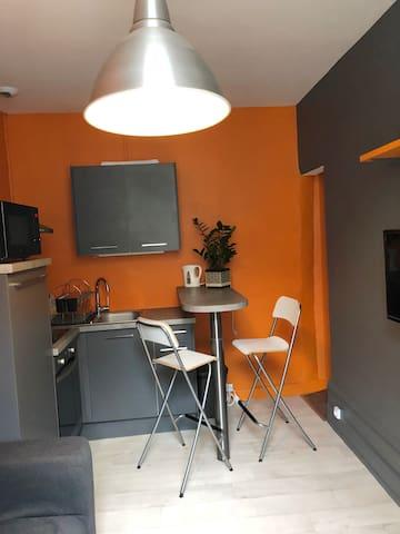 Agréable T2 meublé en hypercentre d'Angoulême