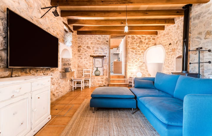 Mallorcan country house in the Tramuntana mountains.