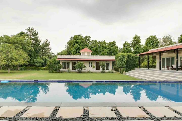 Pabs 4BHK FARMHOUSE WITH POOL