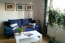 Die blaue Wohnung auf Hof Heideland